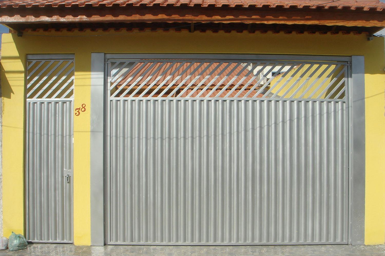 Suficiente Portão de Ferro | Serralheria Roque OM78